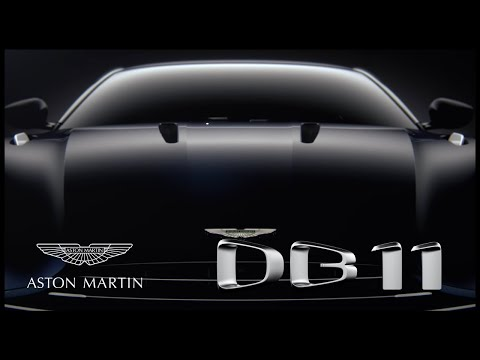 This is DB11 Aston Martin