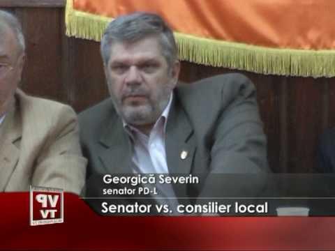 Senator vs. consilier local