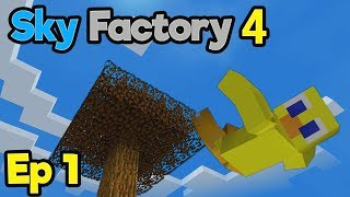DIVING into Sky Factory 4 Hype !!! (Uncut 2 Hour Special) | Minecraft Modpack: Sky Factory 4 | Ep. 1