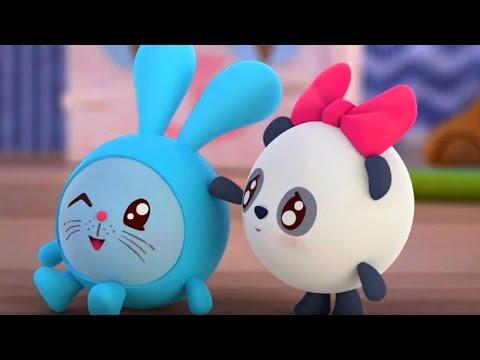 Малышарики - Мяу Гав (Как говорят животные)😺 - серия 65 - обучающие мультфильмы для малышей 0-4