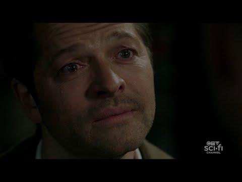 "Supernatural 15x18 - Castiel to Dean : ""I LOVE YOU"", Castiel sacrifices himself to save Dean!"