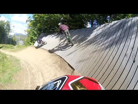 A Day in Vermont at Burke Mountian Bike Park (видео)