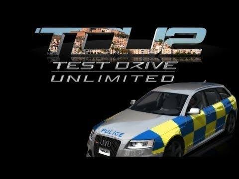 Test Drive Unlimited 2 – Gameplay – Audi RS6 Avant – London Police Paint Job – timelapse