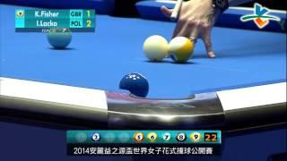 ThailandBilliards.com - K. Fisher Vs I. Lacka - 2014 Amway Espring Women's World 9 Ball Open