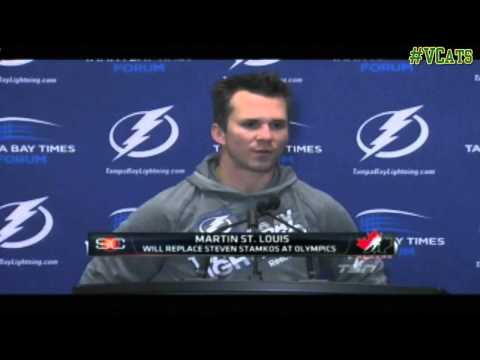 Martin St. Louis '97 named to Team Canada for 2014 Olympic Games