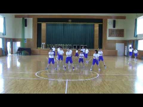 飯塚市立庄内小学校 6−1.Dancing Forever 「卒業 〜みんなで心を一つに〜」