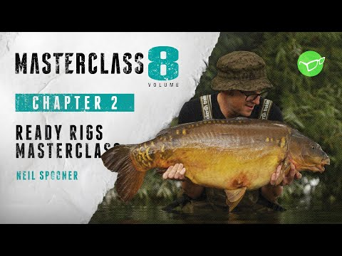 Korda Masterclass 8: Carp Fishing using Ready Tied Rigs | Neil Spooner (2021)