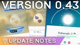 POKÉMON GO UPDATE - COLORED EGGS, BALLS OF LIGHT, AND MINOR TEXT FIXES by Trainer Tips