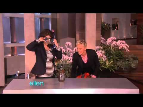 Improv - Ellen and Tina Fey played a hilarious improv game -- they had to create an infomercial for an unknown miracle product, using a random assortment of funny pro...