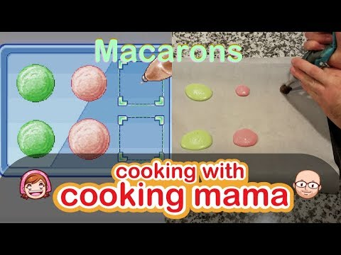 Macarons | Cooking With Cooking Mama!