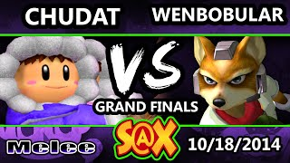 S@X Monthly – MOR | Chudat (Ice Climbers) Vs. Wenbobular (Fox) Melee GFs – or, how to start a match vs Fox with ICs