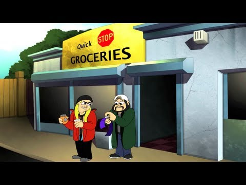 Jay & Silent Bob's Super Groovy Cartoon Movie - Official Trailer #1 [HD]