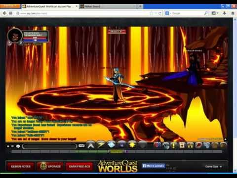 AQW-how to get burning freeze sword ! FAST !