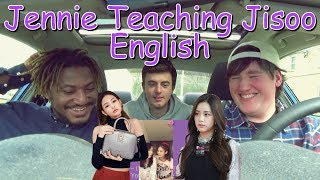 Video [BLACKPINK] Jennie Teaches Jisoo English REACTION [I WAS WRECKED!] download in MP3, 3GP, MP4, WEBM, AVI, FLV January 2017