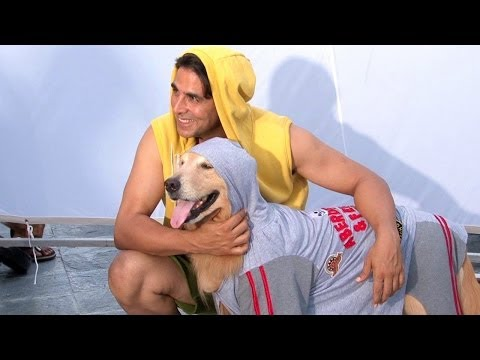 Akshay Introduces Entertainment - Behind the Scenes Making   Its Entertainment