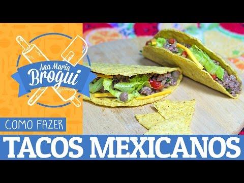 Receitas Salgadas - COMO FAZER TACOS MEXICANOS  Ana Maria Brogui #6