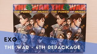Video [UNBOXING] EXO - The War : The Power of Music 4th Repackage MP3, 3GP, MP4, WEBM, AVI, FLV September 2017
