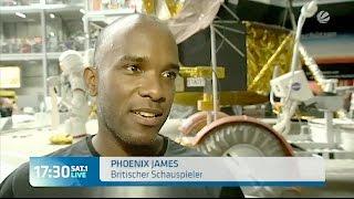 Phoenix James on 17:30 SAT.1 LIVE news - Germany