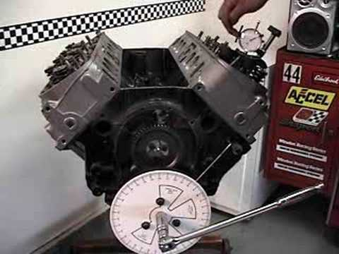 cam timing - Learn how to use degree wheel kit to time camshaft..