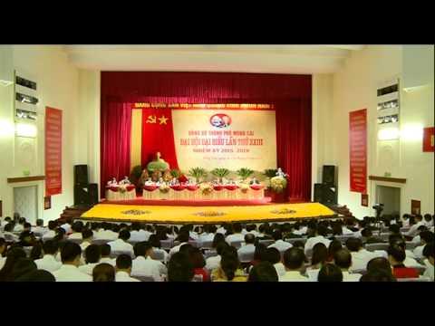 Khai mạc Đại Hội Đại biểu Đảng bộ Thành phố Móng Cái lần thứ XXIII