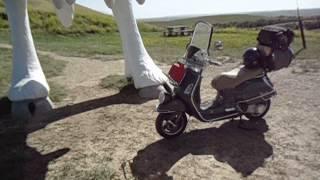 9. Vespa GTV 250 Crazy Trip, Holy Cow !!!!!!