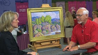 Has the value of this lovely landscape painting soared or sunk? Find out in this sneak preview appraisal with Nan Chisholm! Vintage Seattle airs Monday, July 17 at 8/7C PM on PBS.ANTIQUES ROADSHOW airs Mondays at 8/7C PM & 9/8C PM on PBS. Watch full-length episodes of ANTIQUES ROADSHOW at http://www.pbs.org/show/antiques-roadshowTo be the first to know about all our broadcast and tour info, subscribe to our newsletter and follow us on Twitter & Instagram @RoadshowPBS, Pinterest, and Facebook!