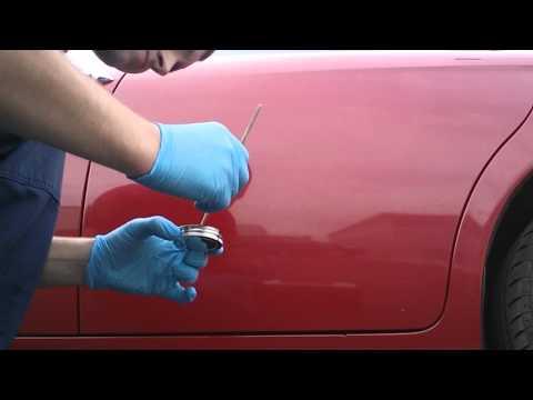 Ремонт царапин на автомобиле без покраски