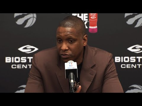 Video: Ujiri: Raptors not team to watch if looking for dramatic change