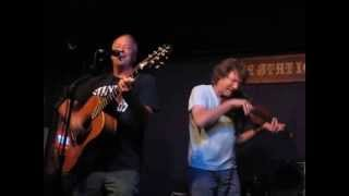 Dread Clampitt with guest vocalist Duke Bardwell and guest Sam Bush on fiddle Station Inn 08 22 2013