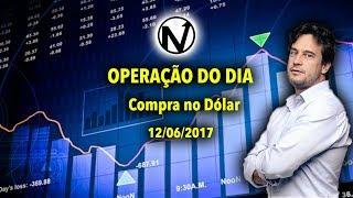 Day trade  Compra no Dólar - 12/06/2017