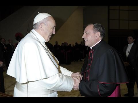 Vídeo con la entrevista al obispo electo.