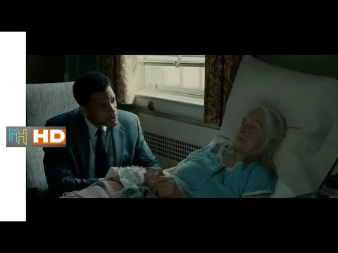 SEVEN POUNDS Helping Old Women at the Hospital Scene   HD Video   2008