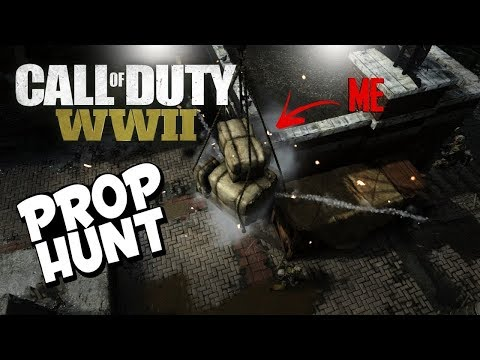PROP HUNT = Most Fun I've Had in COD WW2