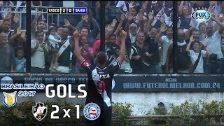 Gols - Vasco 2 x 1 Bahia - 2ª Rodada Brasileirão 2017 - 21/05/2017Narração: Hamilton Rodrigues, Comentários: Paulo LimaEstádio: São Januário, Rio de Janeiro-RJ