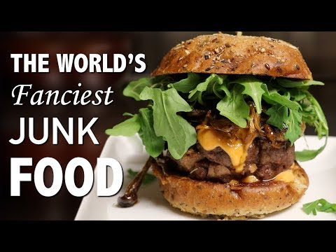 DIY WORLD'S FANCIEST BURGER