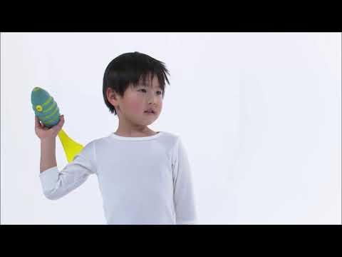 【よくわかる☆教えてエバニュー】#5_ボールゲームターゲット Throw a ball at the target!やってみた!【キッズカタログ】