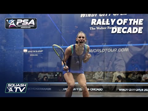 Squash: TOP 10 WOMEN'S RALLIES OF THE DECADE