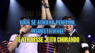 Bruno E Marrone   Enquanto Eu Brindo Cê Chora