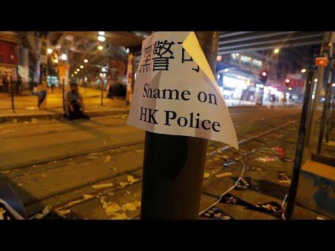 Χονγκ Κονγκ: Η στιγμή του πυροβολισμού