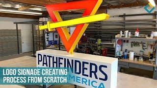 Pathfinders North America Logo Signage Creating