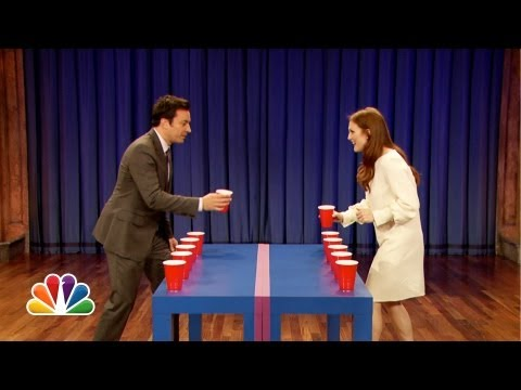 moore - Jimmy challenges actress Julianne Moore to a game of Flip Cup. Subscribe NOW to Late Night with Jimmy Fallon: http://full.sc/IcjtXJ Watch Late Night With Jim...