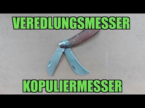 Veredelungsmesser | Kopuliermesser | Gartenmesser || Unboxing & erster Eindruck
