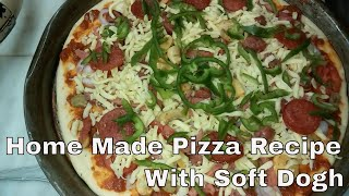 """One way to please everyone at the table is to custom-Bake pizza at home: We Prepare a selection of toppings Mushrooms , Sausages, Pepperoni for Special Home Made Pizza . Usually, I have to prepare one medium cheese and Large Veggie-lover's Pizza.!!! Plus, kids get to enjoy making their own personal pizza as well... https://www.youtube.com/channel/UChIBgwAg_91BnaX4GvCf5zg-~-~~-~~~-~~-~-Please watch: """"How To Cook Quick Finger Fish in Five Mins   Home Made Fried Finger Fish Recipe """" https://www.youtube.com/watch?v=XyDFLF0ZbAM-~-~~-~~~-~~-~-"""