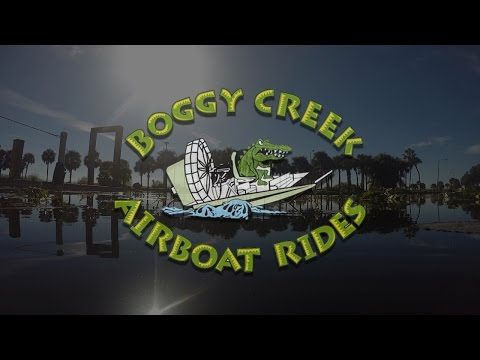 Boggy Creek Airboat Rides