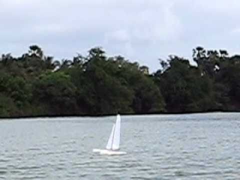 RT65 Race Trimaran - Windy Day - Clip 2