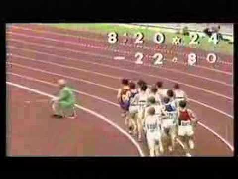 1972 Olympics 5000m--Steve Pre