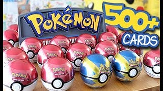 *HUGE BULK* Real Life PokéBall Tin Opening by Unlisted Leaf