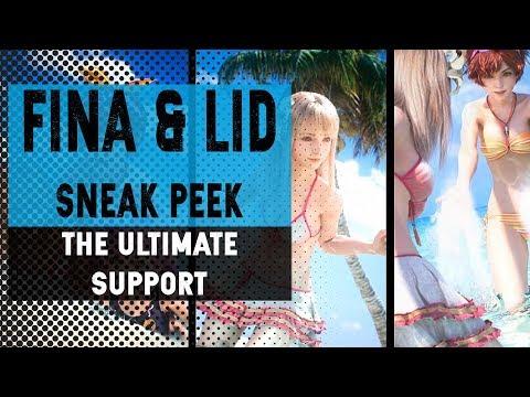 Herbal tea - ULTIMATE SUPPORT - Sneak Peek Lid & Fina - FFBE