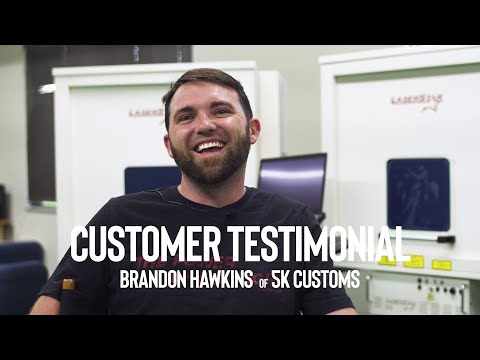 """<h3>Customer Testimonial - Brandon Hawkins of 5k Customs</h3><span style=""""font-size: 15px; white-space: pre-wrap; font-family: Roboto, Noto, sans-serif; color: #0d0d0d;"""">Brandon Hawkins of 5k Customs located in Kemp, TX. shares his training experience here at our Orlando, FL facility. Thank you, Brandon, for choosing LaserStar Technologies and we hope nothing but the best for you and your business.</span>"""