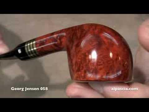 pipa Georg Jensen 058 – smoking pipes